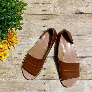 Cognac Brown Sandals